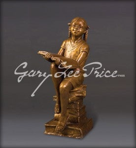 New Heights of Knowledge-Dreams - Bronze Sculpture by artist Gary Lee Price