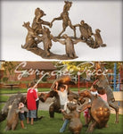 Circle of Friends - Bronze Sculpture by artist Gary Lee Price