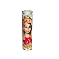 Alessia Cara Prayer Candle // Saint Alessia Cara // Alessa Cara Gift - Shop Celebrity novelty prayer candles online - Shrine On