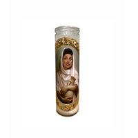 Elaine Benes Prayer Candle // Seinfeld Candle // Saint Elaine // Novelty Candle - Shop Celebrity novelty prayer candles online - Shrine On