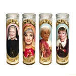 Golden Girls Prayer Candles // Set of Four Golden Girls Candles  // Golden Girls Gift Set - Shop Celebrity novelty prayer candles online - Shrine On