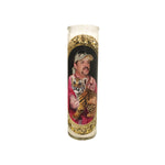 Joe Exotic Prayer Candle // Tiger King Gift - Shop Celebrity novelty prayer candles online - Shrine On