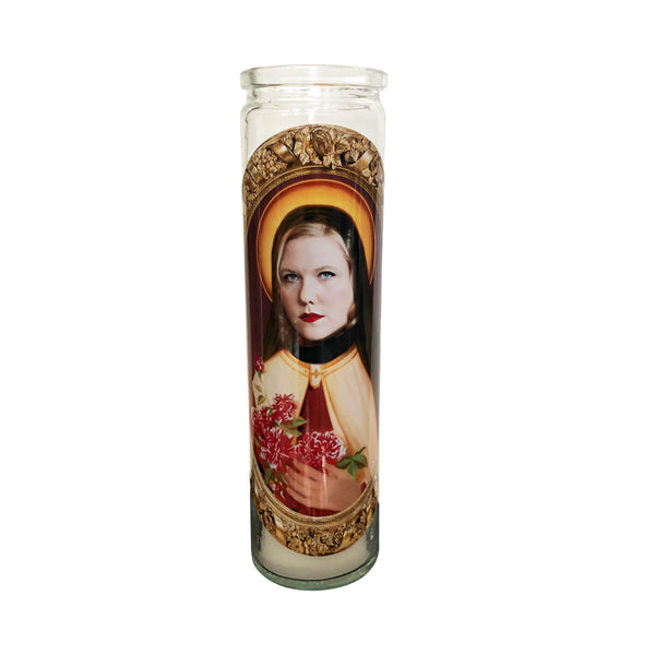 Lindy West Prayer Candle // Saint Lindy West - Shop Celebrity novelty prayer candles online - Shrine On