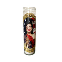Rashida Tlaib Prayer Candle // The Squad - Shop Celebrity novelty prayer candles online - Shrine On