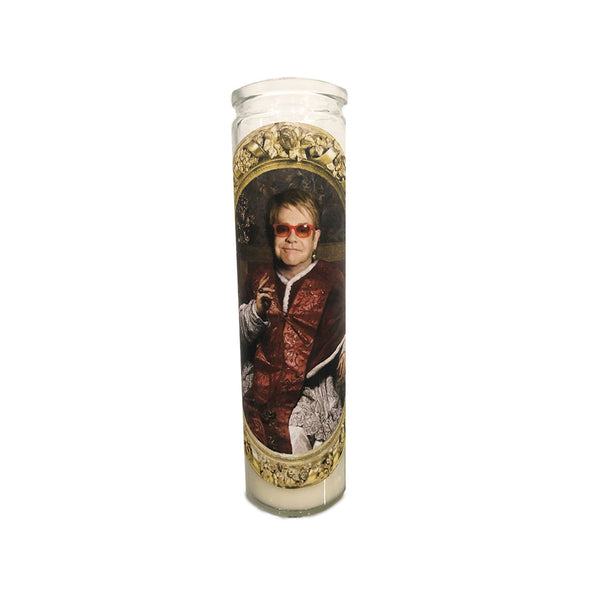 Elton John Prayer Candle - Shop Celebrity novelty prayer candles online - Shrine On