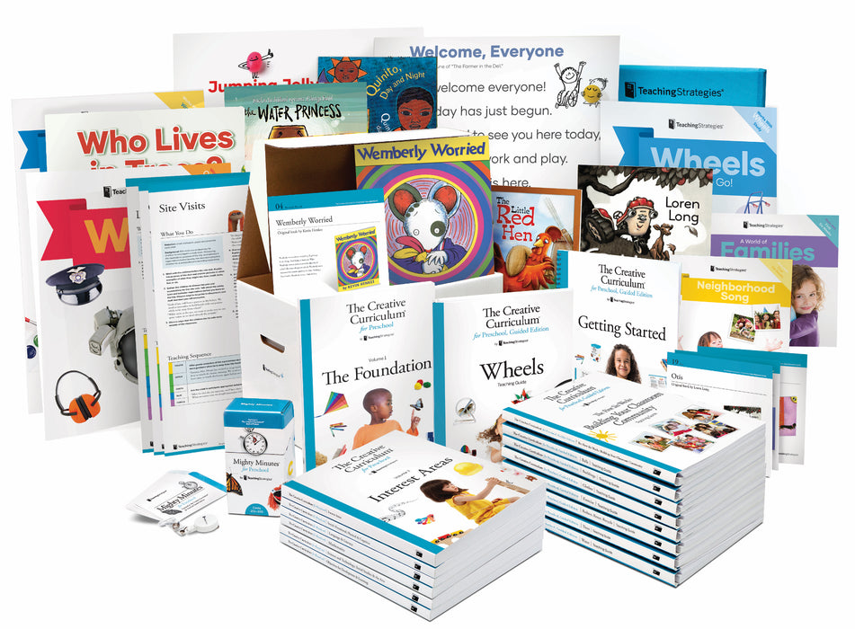 The Creative Curriculum® for Preschool, Guided Edition