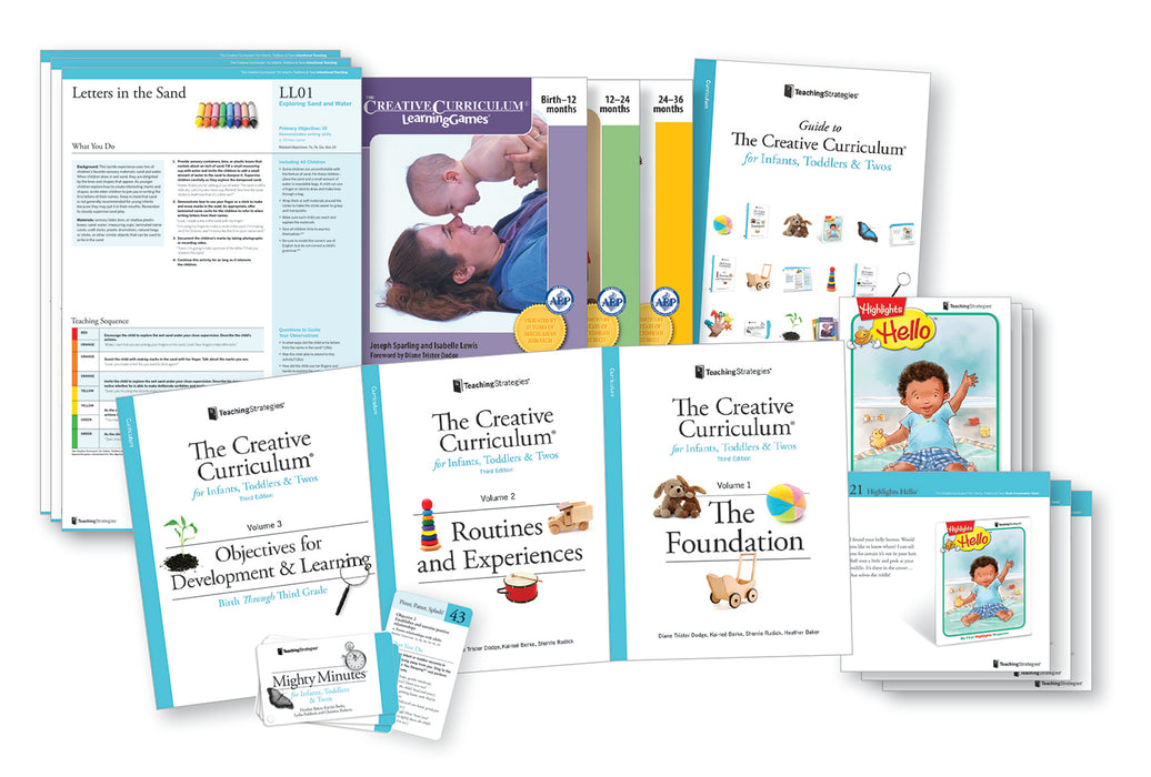 The Creative Curriculum® for Infants, Toddlers & Twos, Third Edition, With Daily Resources (Bilingual)
