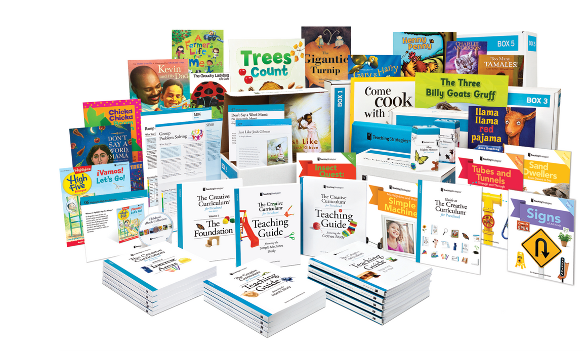 The Creative Curriculum® for Preschool, Deluxe Edition