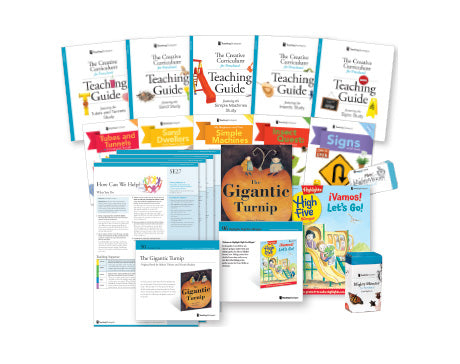 The Creative Curriculum® for Preschool, Expanded Daily Resources (bilingual)
