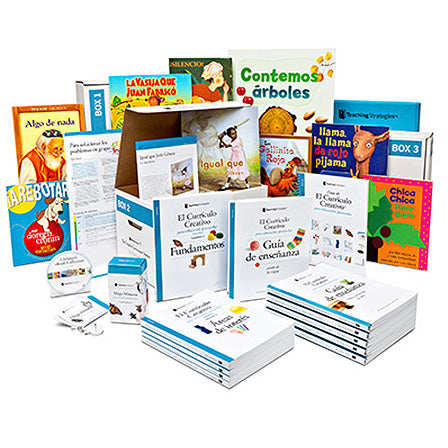 The Creative Curriculum® for Preschool, Sixth Edition, With Daily Resources (Spanish)
