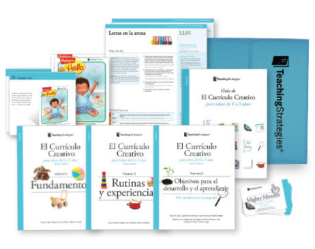 The Creative Curriculum® for Infants, Toddlers & Twos, Third Edition, With Daily Resources (Spanish)