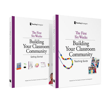 The First Six Weeks: Building Your Kindergarten Classroom Community