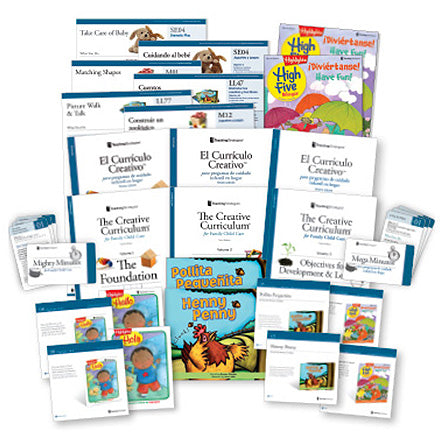 The Creative Curriculum® for Family Child Care, Third Edition With Daily Resources (bilingual)
