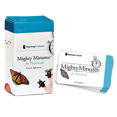 Mighty Minutes® for Preschool (Cards 1-100)