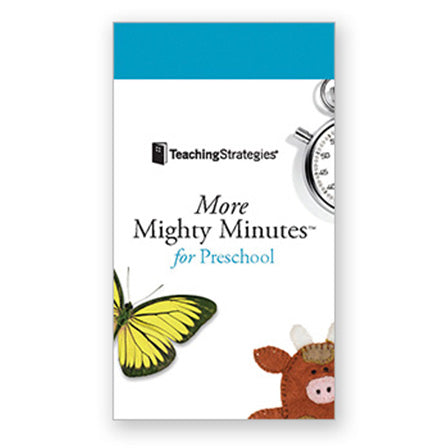 More Mighty Minutes® for Preschool (Cards 101-200)
