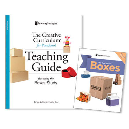 The Creative Curriculum® for Preschool Teaching Guide: Boxes Study