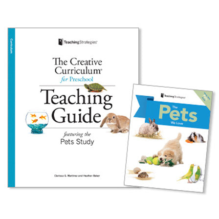 pet study for preschool