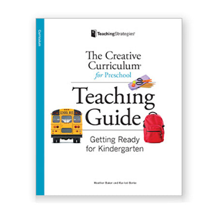 Getting Ready for Kindergarten Teaching Guide