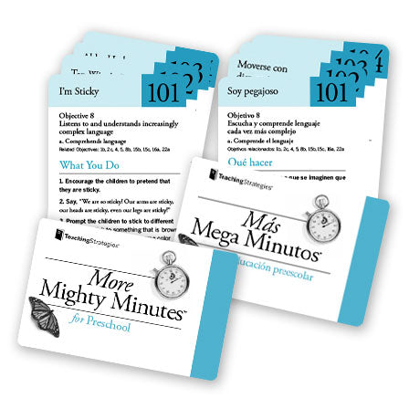 More Mighty Minutes® for Preschool (bilingual)