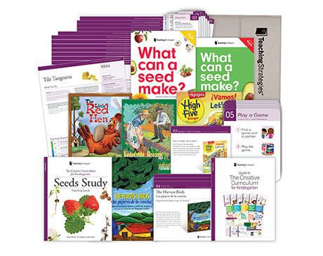 The Creative Curriculum® for Kindergarten Seeds Study Mini-Kit
