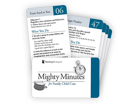 Mighty Minutes® for Family Child Care (Cards 01-100)