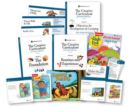 The Creative Curriculum® for Family Child Care, 3rd Edition, with Daily Resources