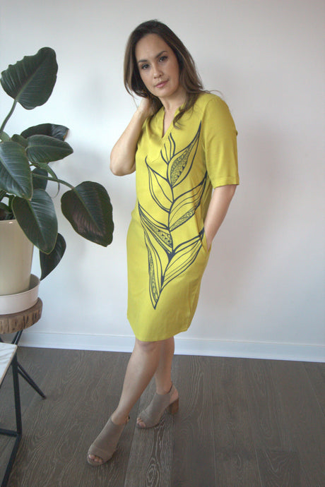 LADIES SHIFT DRESS HELICONIA TD105
