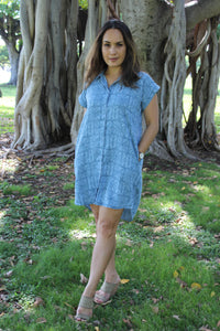 SAOLOTOGA BUTTON DOWN DRESS TSLSD-001
