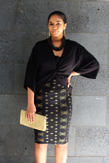 ELEGANT MALU PENCIL SKIRT LS596