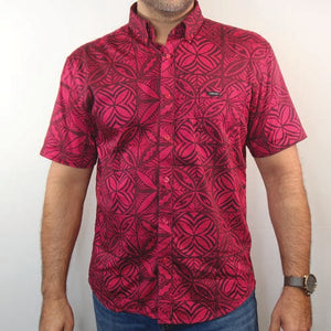 MENS SHIRT COTT/STRETCH PUA ELEI TSCSS02