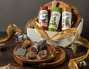 3-Flavor + Cheese Board Gift Set