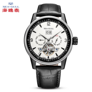 Seagull Full Calendar Grande Date Flywheel Automatic Watch 219.328