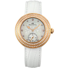 Load image into Gallery viewer, Seagull Rhinestones Bezel Gold Pearl Watch 719.751L - seagull-watches