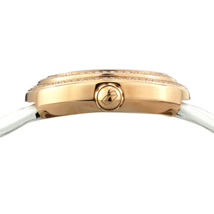 Seagull Rhinestones Bezel Gold Pearl Watch 719.751L - seagull-watches