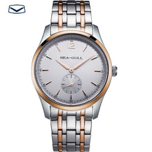 Load image into Gallery viewer, Seagull Ultra Thin 9MM Exhibition Back Mechanical Business Watch D816.448