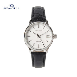 Seagull 3 Hands White Dial Exhibition Automatic Watch D101L