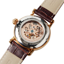Load image into Gallery viewer, Seagull Double Skeleton M182SGK Rose Gold Automatic Watch