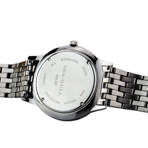 Seagull 10mm Thin Stainless Steel Automatic Watch 816.357 - seagull-watches