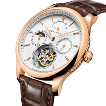 Load image into Gallery viewer, Seagull Tourbillon Manual Wind Mechanical Watch 518.937
