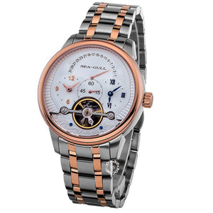 Seagull Stainless Steel Waterproof Mechanical Watch 217.411
