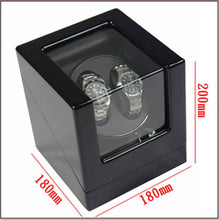 Load image into Gallery viewer, Automatic Watch Winder for 2 Mechanical Watch