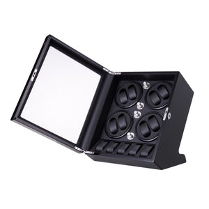 Ultra-Quiet Watch Winder Box for 8 Self-Winding Watches