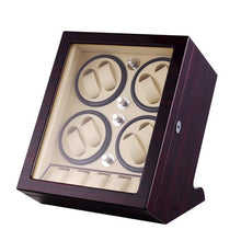 Load image into Gallery viewer, Ultra-Quiet Watch Winder Box for 8 Self-Winding Watches