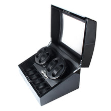 Load image into Gallery viewer, High-end Watch Winder Storage Box for 4 Automatic Watches