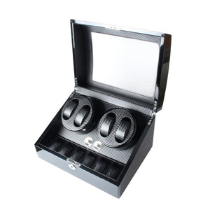 High-end Watch Winder Storage Box for 4 Automatic Watches