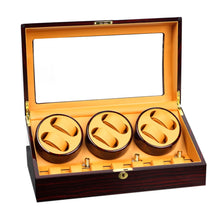 Load image into Gallery viewer, Luxury 6 Watch Automatic Watch Winder Box