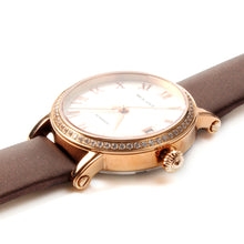 Load image into Gallery viewer, Seagull Rhinestones Gold Tone Crown Bezel Mechanical Watch 719.387 - seagull-watches