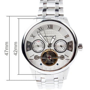 Seagull Roman Numerals Skeleton Mechanical Watch 816.414 - seagull-watches