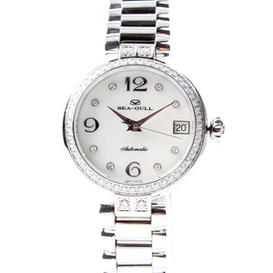 Seagull Rhinestones Mechanical Watch 716.755L - seagull-watches
