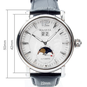 Seagull Moon Guilloche Automatic Watch M308S - seagull-watches